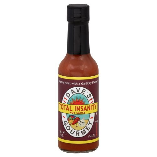 - Dave's Gourmet, Total Insanity Hot Sauce , 5 OZ(Pack of 3) by Dave's Gourmet