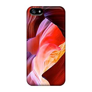 New Antelope Canyon Tpu Case Cover, Anti-scratch AnnetteL Phone Case For Iphone 5/5s
