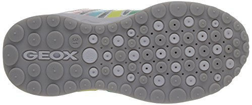 Para J Geox Niñas multicolor Blanco Zapatillas Shuttle Girl wqU7OT
