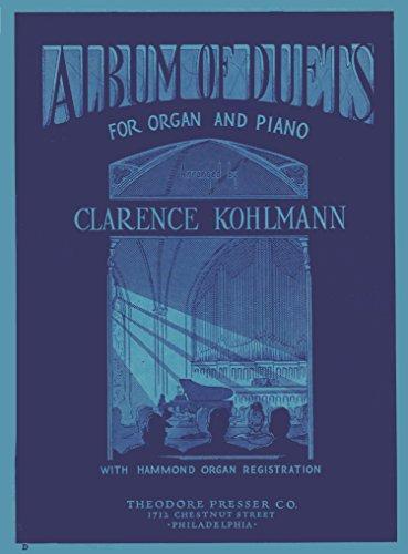 Album of Duets for Organ and Piano (Piano Organ Duets)