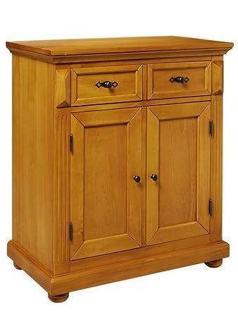 Amazon De Heine Home Kommode Braun Highboard Honigfarben Gewachst