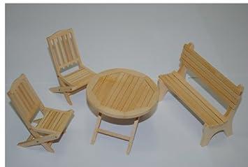 Gartenmöbel Holz Set Mit Bank ~ Unbekannt set : gartenmöbel 2 stühle bank und 1 tisch holz möbel