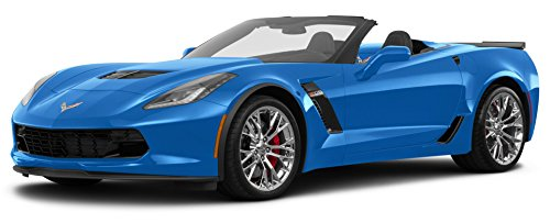 2016 Chevrolet Corvette Z06 3LZ, 2-Door Convertible, Laguna Blue Metallic Tintcoat