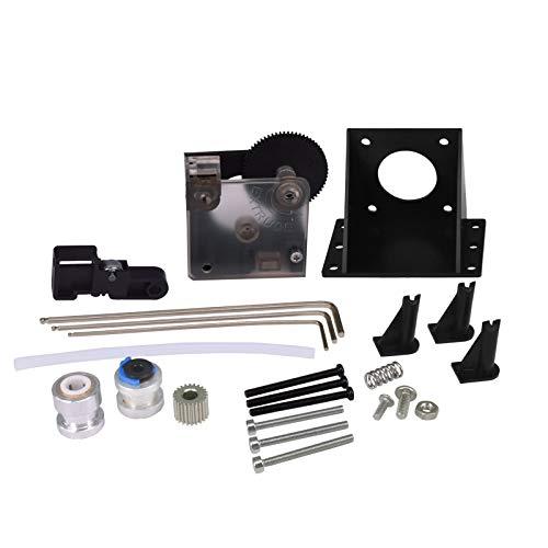 CHPOWER Titan Extruder Parts, 3D Printer DIY Parts for E3D V5/ V6, Aluminum Drive Feed 3D Printer Extruders for Titan, 1.75mm/3.0mm