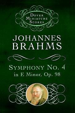 BRAHMS - Sinfonia nº 4 en Mi menor Op.98 para Orquesta (Partitura Bolsillo)