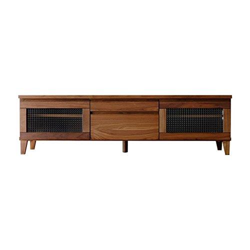 ISSEIKI テレビボード TVボード ウォルナット柄 150cm 選べる3サイズ 木製家具 FLOCK-2 150 TV (WALNUT) B01DEMCZ3U ウォルナット 幅150cm