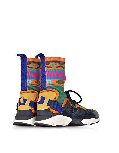 multicolor Woman Carven in Sneakers Cv18i7353s0470624ve10060 tessuto alte 1qYOwdq