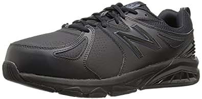 New Balance Men's 857 Cross Training Shoes, Black, 7 US (X-Wide)