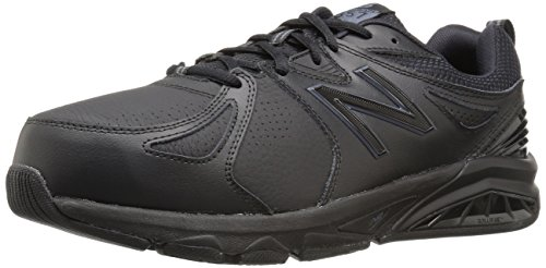 New Balance Men's mx857v2 Casual Comfort Training Shoe, Black, 9.5 D US
