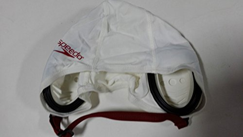 12 Speedo Competition Water Polo Gear Extender Cap #2 To #13 Set White with Maroom print