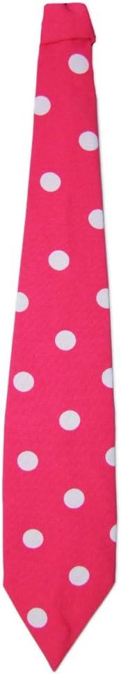 Das Kost/ümland Krawatte 50er Jahre mit Punkten Tolles Accessoire zum Fifties Kost/üm an Karneval oder Mottoparty Marineblau