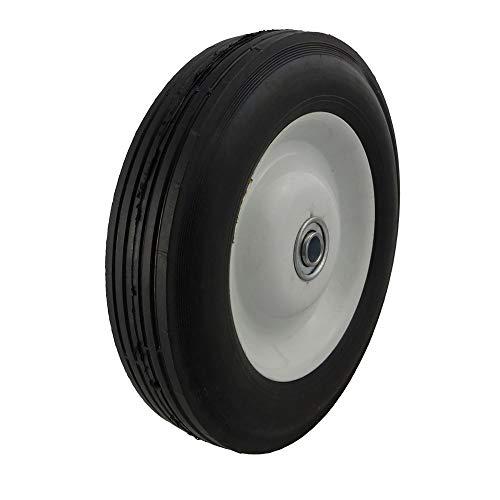 8 inch plastic wheels - 7