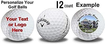 Callaway 1 Dozen Warbird Custom Logo Golf Balls