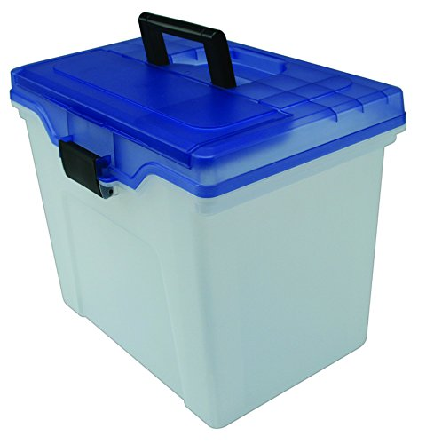 staples-handy-file-box-letter-size-clear-w-blue-lid