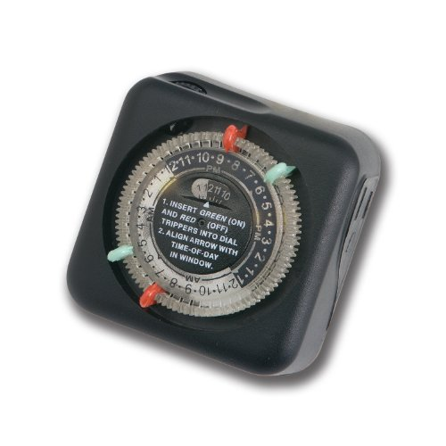 Kichler 15557BK Outdoor Enclosure Timer