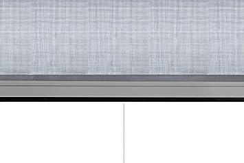 Anthracite jarolift 4 in 1 Zanzara Store de protection contre insecte 160 x 180 cm Moustiquaire pour fen/êtres cadre en aluminium larg x H