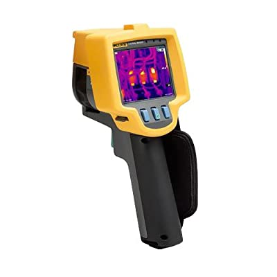 Fluke FLK-Ti9 9HZ Industrial Commercial Thermal Imager, LCD Display, 5% Accuracy, -4 to +482 Degrees F Temperature Range, 9 Hz Frequency