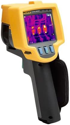 Fluke Ti9 9HZ Industrial Commercial Thermal Imager, LCD Display, 5 Accuracy, -4 to 482 Degrees F Temperature Range, 9 Hz Frequency