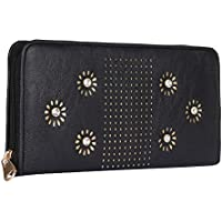 k kaparrow women | girls stylish wallet | clutch | clutches with artificial diamond fitting