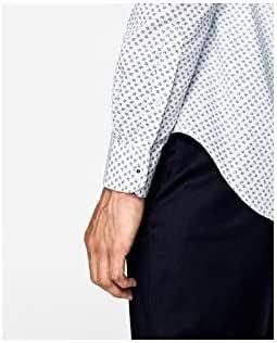 Zara Man Easy Care Structured Slim Fit Shirt.