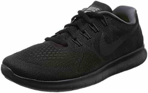 NIKE Women's Free Rn 2017 Black/Anthracite Dark Grey Running Shoe 7 Women US