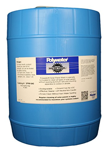 Madison Electric Products SPW-640 Polywater Solar Panel Wash, 5 gal Pail (18.9 Liters) by Madison Electric Products