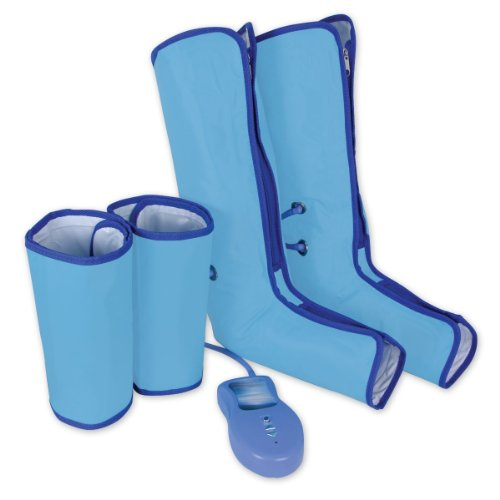 UPC 723794200905, Beautyko Air Compression Leg Wraps Regular Massager Foot Ankles Calf Therapy Circulation