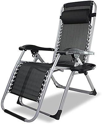 Sillas Zero Gravity - Tumbonas plegables y reclinables Twin Pack ...