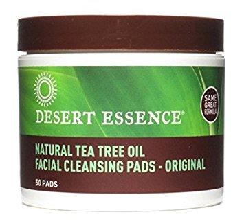 - Desert Essence Face Cleansing Pad Ttree