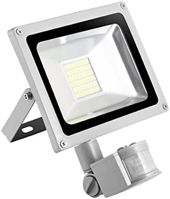 30w Foco led exterior Proyector,Foco sensor de movimiento,Led ...