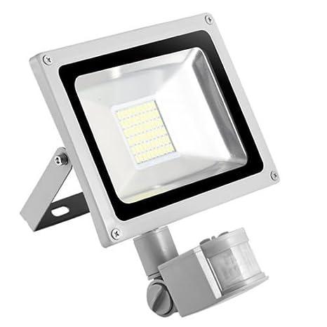 30w Foco led exterior Proyector,Foco sensor de movimiento ,Led Floodlight para Exterior Iluminación