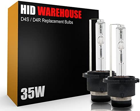 D4S // D4R // D4C HID-Warehouse HID Xenon Replacement Bulbs 5000K Bright White - 2 Year Warranty 1 Pair