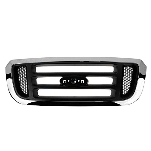 Koolzap For 04-05 Ranger Pickup Truck Front Grill Grille Assembly Crossbar Style 4L5Z8200FAA