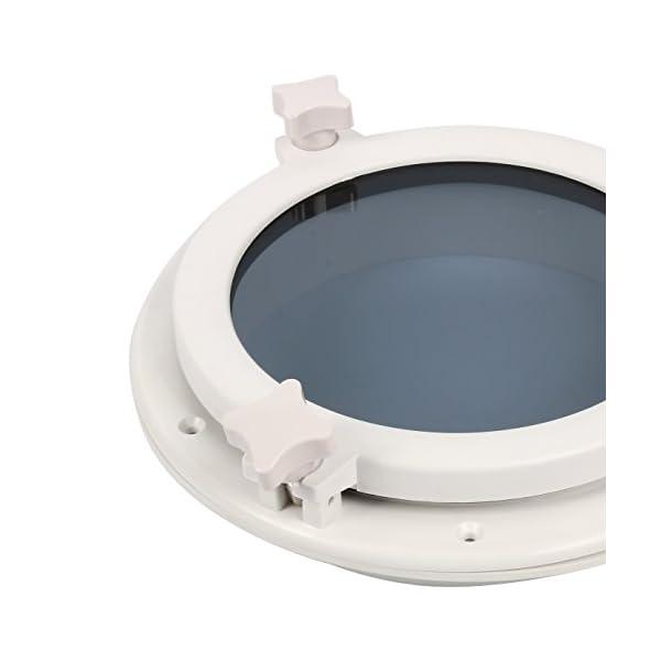 Amarine-made-Boat-Yacht-Round-Opening-Portlight-Porthole-10-Replacement-Window-Port-Hole-ABS-White-Tempered-Glass-Marineboatrv-Portlight-Hatch
