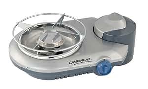 Campingaz 2000009655 Bistro 300 Stopgaz - Hornillo de gas (33 x 22 x 12 cm), color gris