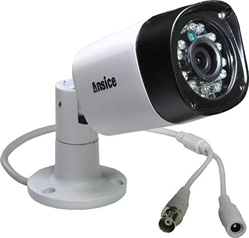 Ansice 1080P 2.0MP AHD CCTV Camera 2.8mm Lens Wide Angle 1MP Video AHD Camera with IR-Cut Waterproof Security Infrared 24 pcs for AHD DVR Only Review