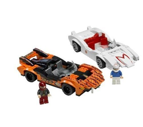 LEGO Speed Racers 8158 - Speed Racer und Snake Oiler: Amazon.de ...