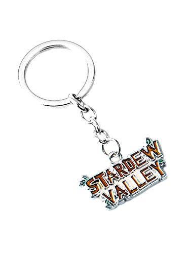 Athena Brand Stardew Valley Gaming Games Key Ring Keychain for House Boat Auto Keys]()