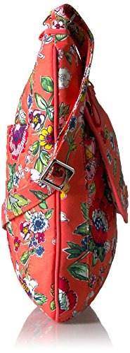 Signature Floral Iconic Bradley Cotton Coral Mailbag Vera pqYt0