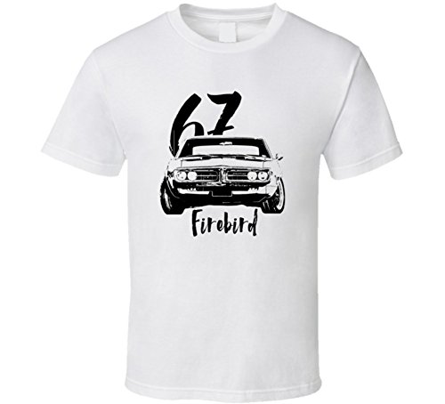 Firebird Grill (1967 Firebird Grill View With Year And Model Light Color T Shirt M White)