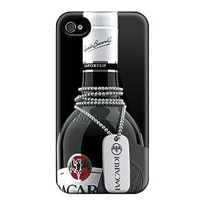 KennethKaczmarek Iphone 4/4s Comfortable Phone Hard Covers Provide Private Custom Colorful Bacardi Love Pattern [LlK6632uZQP]