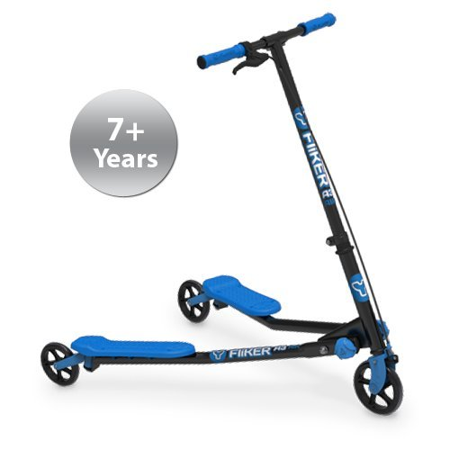 Yvolution YFliker A1 Air Ride On, BLUE/BLACK, One Size by Yvolution (Image #1)