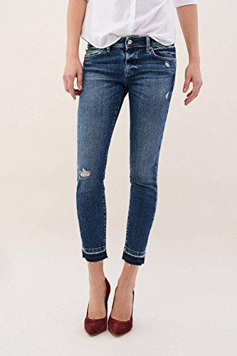 Azzuro Con Colette Jeans Dettaglio Capri Chiusura Di Salsa xq0SAH1ww