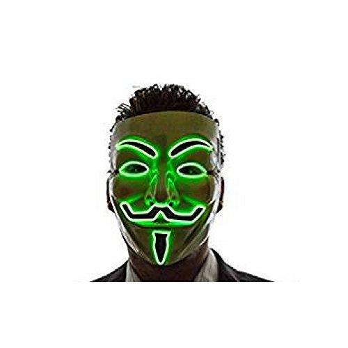 Sale! Wireless L.E.D. V For Vendetta Mask (4 Color - R, G, B, B) Guy Fawkes (V For Vendetta Masks For Sale)