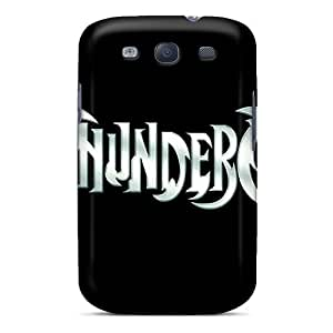 Shock Absorbent Hard Phone Cover For Samsung Galaxy S3 (ujF1672sCVs) Provide Private Custom Fashion Thundercats Logo Pictures