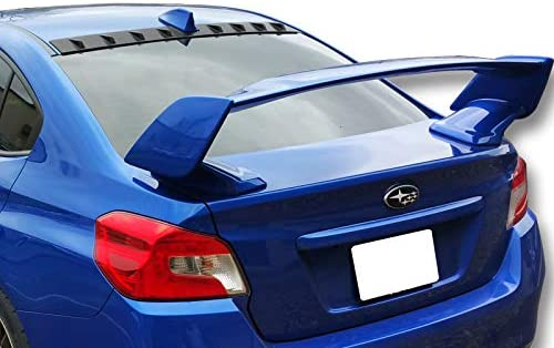 EPARTS Glossy Black ABS Rear Roof Window Spoiler Wing Roof Top Vortex Shark Fin Spoiler Compatible with 2012-2015 Subaru Impreza 4 Door