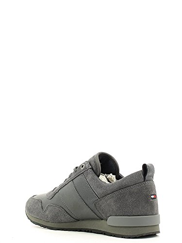 Tommy Hilfiger Fm56821680 Sneaker hommes Gris, Taille 42