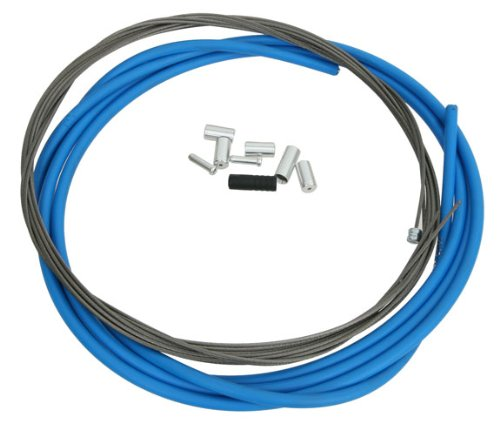 Shimano PTFE Road Shift Cable and Housing Set (Blue)