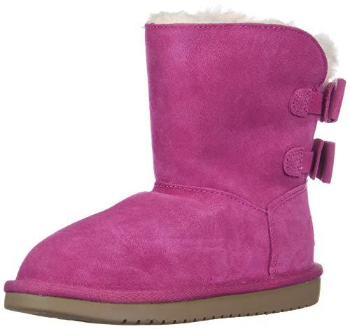 Koolaburra by UGG Girls' K ATTIE Fashion Boot, Raspberry Rose, 01 Medium US Little Kid (Ugg Boots Rosen)