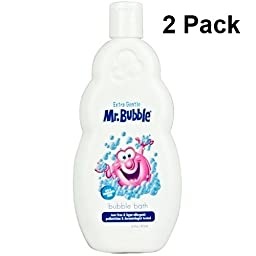 Mr. Bubble Extra Gentle Bubble Bath 16 fl oz (2-pack)